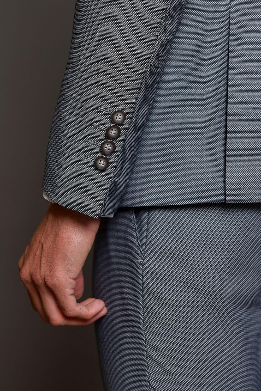 Γκρι Ανδρικό Κοστούμι 1507-3103