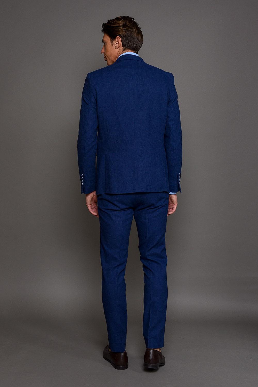 Μπλε Ρουά Ανδρικό Κοστούμι 1506-3103