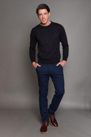 Μπλε Σκούρο Ανδρικό Παντελόνι