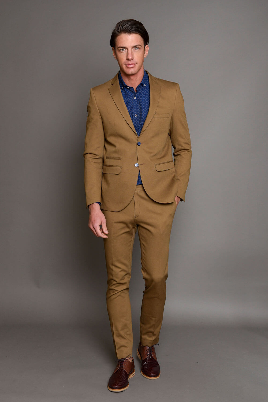 Κάμελ Ανδρικό Κοστούμι 1434-3103