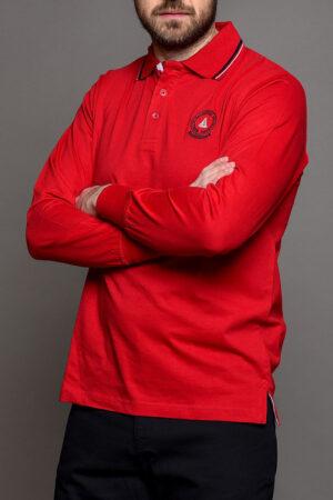 Κόκκινη Ανδρική Μπλούζα Πόλο
