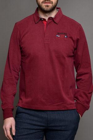 Κόκκινη Ανδρική Πόλο Μπλούζα