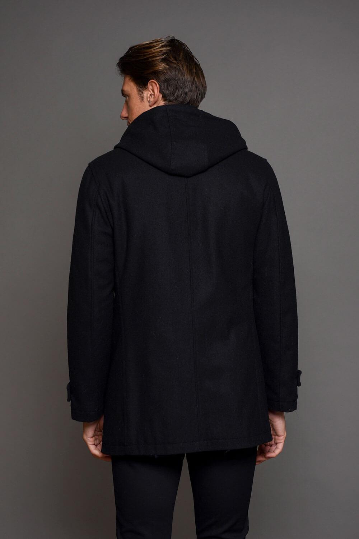 Μαύρο Μπουφάν Ανδρικό Μοντγκόμερι 1301-2230