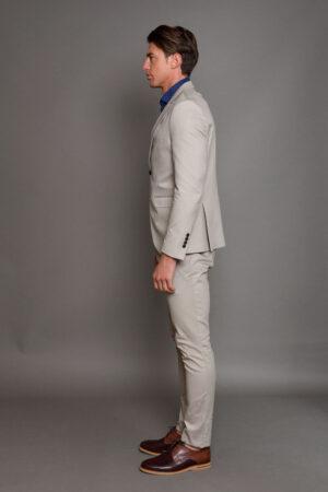 Μπεζ Ανδρικό Κοστούμι 1434-3085