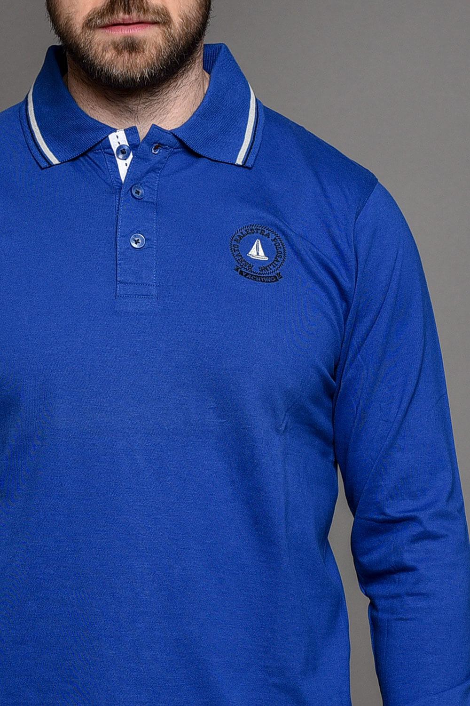 Μπλε Ανδρική Μπλούζα Πόλο