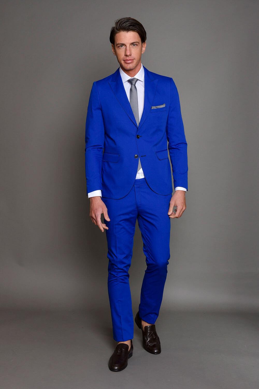 Μπλε Ανδρικό Κοστούμι 1394-3085