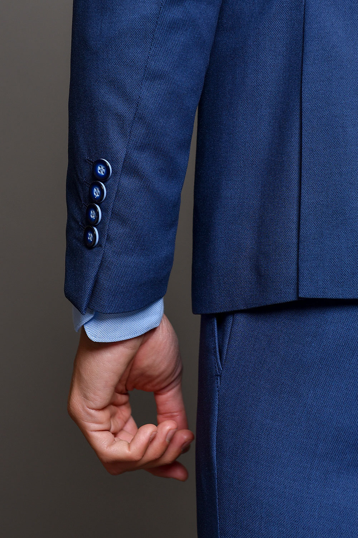 Μπλε Ανδρικό Κοστούμι 1505-3103